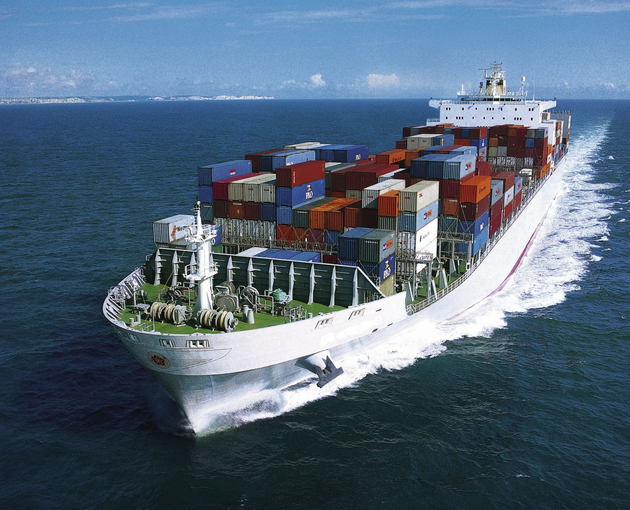 Ocean Freight forwarder in India.