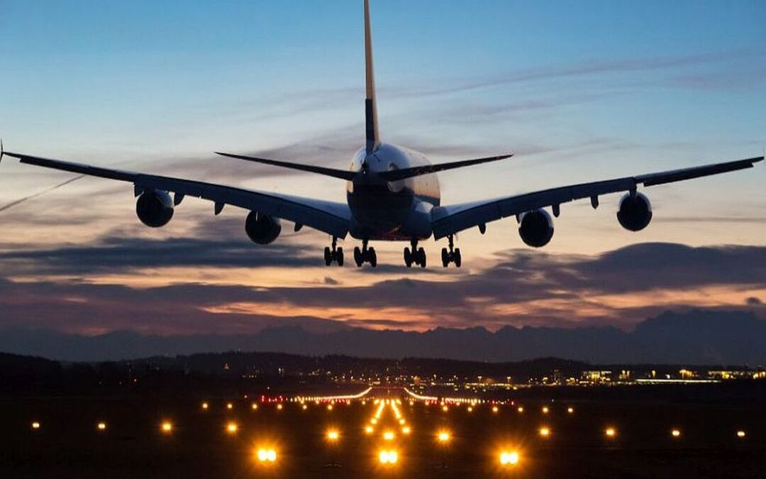 international passenger flights