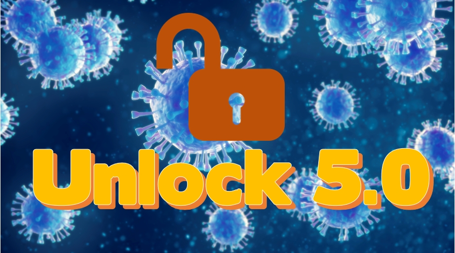 Unlock 5.0 in India   Lockdown Extended till 31 October in Containment Zones