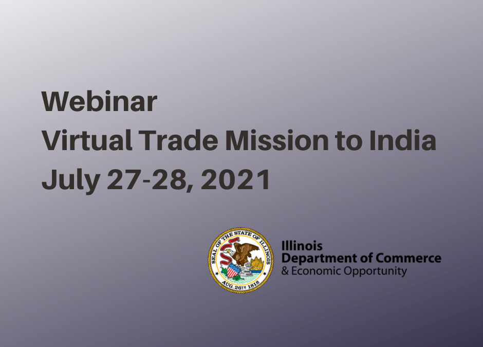 Virtual Trade Mission to India